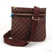 LOUIS VUITTON ルイヴィトン 新品 ダミエ ショルダーバッグ ポシェット・ボスフォール N51111
