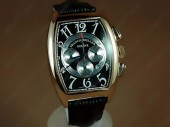 Franck Muller Watches Casablanca Chronograph Movement RG Case With Black Dial J-FN0062